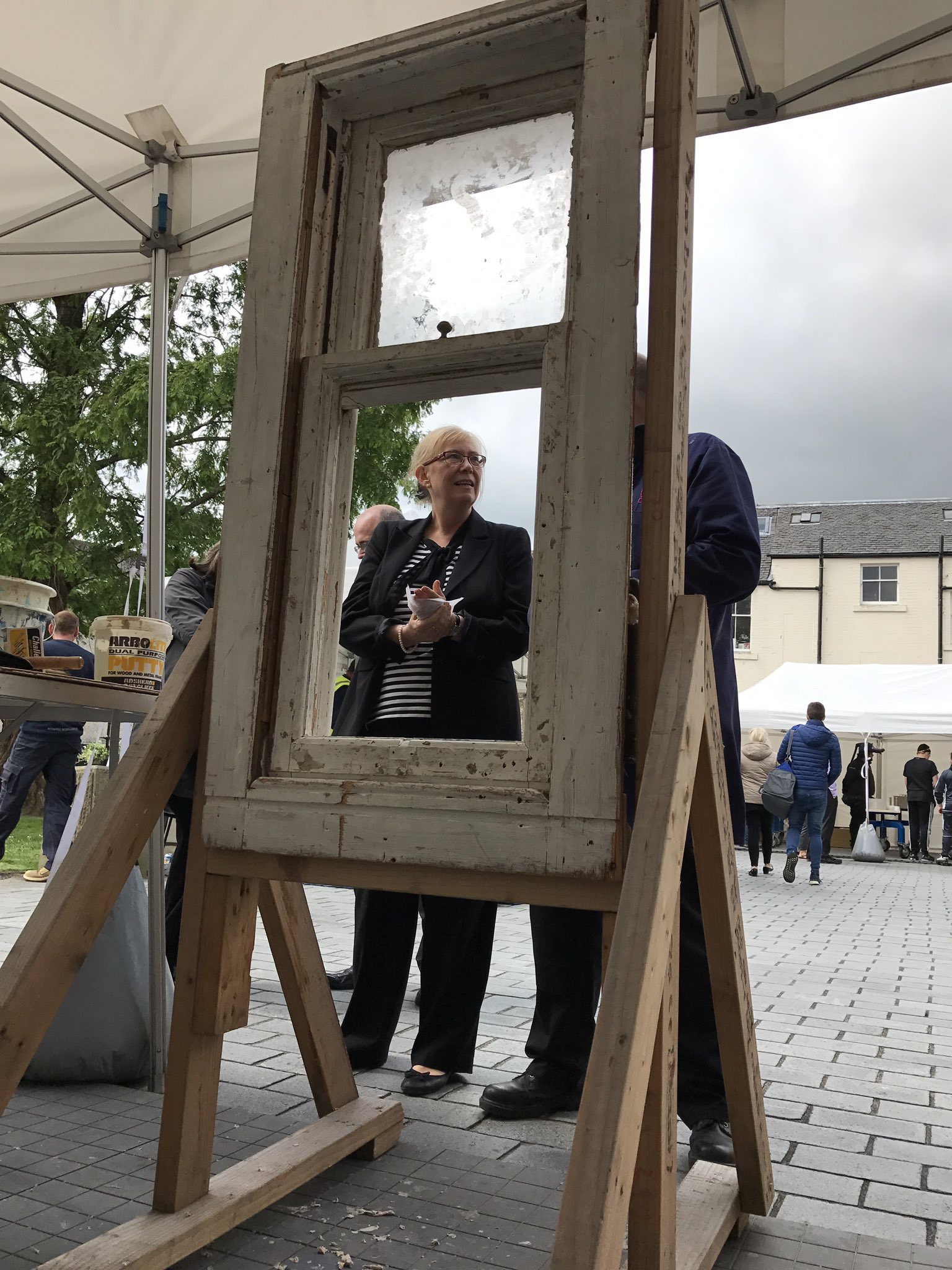 Elaine Smith MSP joinery